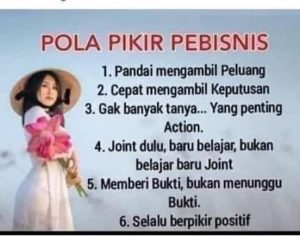 Read more about the article Pola Pikir Pebisnis