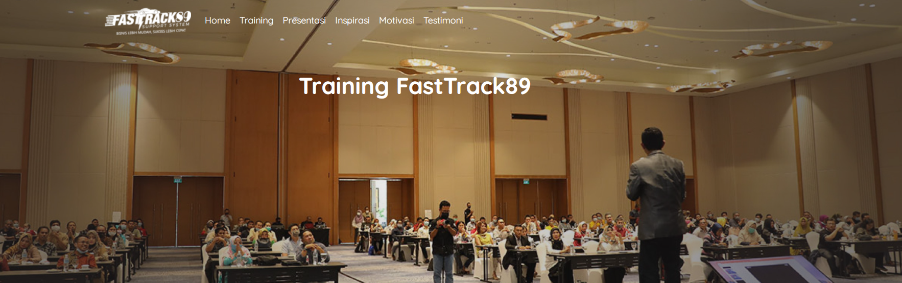 Training Fasttrack89 Support System